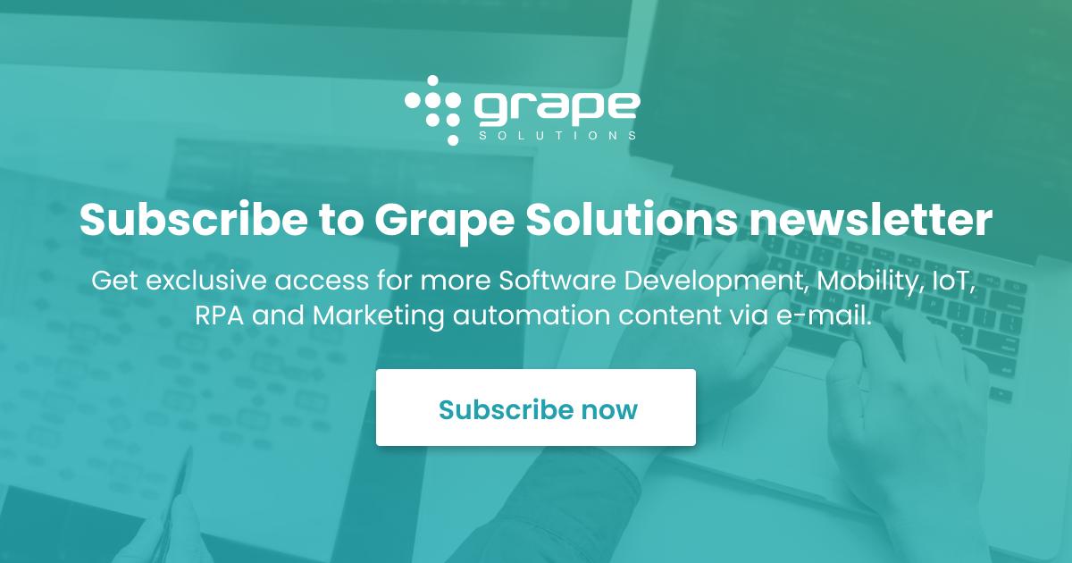 software development mobility iot marketing rpa blog news